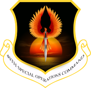 40th Special Operations Command Logo
